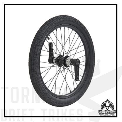 Переднее колесо с педалями для дрифт трайка.
