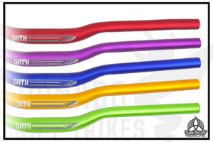 Цветные рули для дрифт трайка
