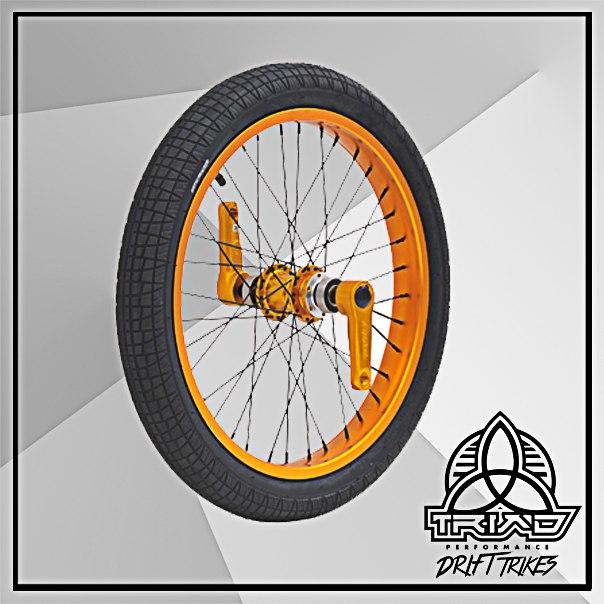 Переднее колесо с педалями