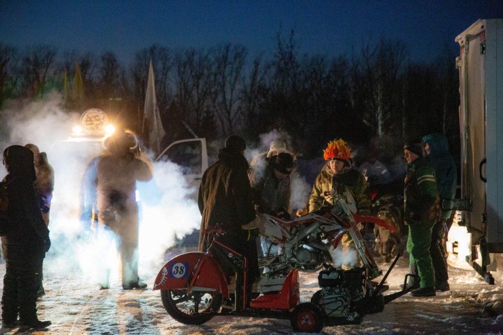 tornado drift trike snowdogs race